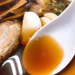 大石家 - 醤油割りスープ