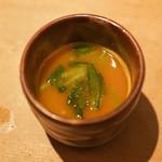 白金 酉玉 - かぼちゃのスープ