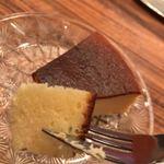 モトマチ喫茶 - しっとりチーズケーキ