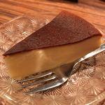 モトマチ喫茶 - 自家製チーズケーキ