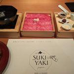 ホワイトイン高崎 スラッシュカフェ - すき焼きセット(ぐんまのご馳走 WAZA SUKIYAKI)