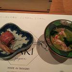 ホワイトイン高崎 スラッシュカフェ - 前菜(ぐんまのご馳走 WAZA SUKIYAKI)