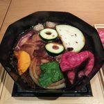 ホワイトイン高崎 スラッシュカフェ - 関東風すき焼き(ぐんまのご馳走 WAZA SUKIYAKI)