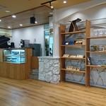 ブラウンコーヒー - 店内、レジ厨房側