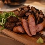 日本酒バル 蔵のや - 蔵のや特製肉盛り3種