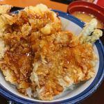 118436592 - すてーきなビーフ天丼