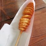 オーストリア館  - 料理写真:くるくるポテト 210円