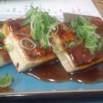 くるみ - 豆腐ステーキ