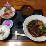 118443062 - かぶと煮定食 1,350円