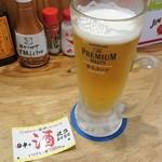 串カツ田中 - 店員さんにオススメしてもらい「飲みパス」ゲット
