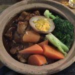 Kuronekoyoru - 豚角煮土鍋ごはん