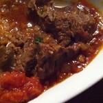 ロス・バルバドス - 8回目2012年3月1日ケニア料理 ゴンベ(牛肉のピリ辛トマト煮込み)