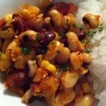ロス・バルバドス - 8回目2012年3月1日ケニア料理 ギゼリ(3種の豆とトウモロコシの炒め物)