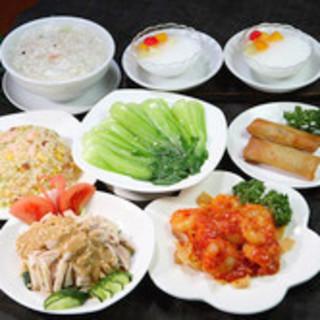 野菜もたっぷり 二人世界コース 1680円