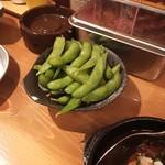 串だおれ - 枝豆 180円