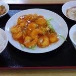 11846204 - 海老チリソース定食