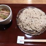 壱刻 - 十割 丸 鴨汁(1,580円)