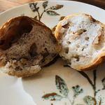 フロイン堂 - くるみがゴロゴロ入った、くるみパン。さくさくと、ナッティな食感です。