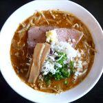 麺や 高野 - カリー味噌ラーメンのアップ