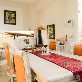 オーベルジュを思わせる空間で、贅沢なひと時をお過ごしください