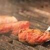 グッドミート・バル - 料理写真:お肉焼いているところ