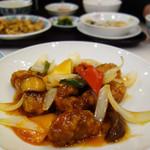 中華菜館 五福 - 料理写真:酢豚1,450円+税。