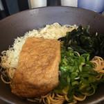足立製麺所 - 料理写真:たぬきそば650円