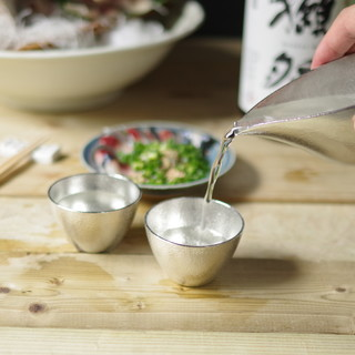 日本の伝統「錫」で飲む日本酒