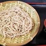 寿々久 - 料理写真:もりそば(330円)