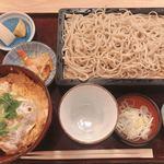 京橋 紅葉川 - カツ丼セット 1,400円