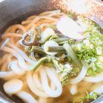 吉備路もてなしの館 山手  - 料理写真:山菜うどん