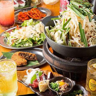 2種類の馬鍋!ご宴会に最適な鍋コースは4000円~