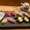 鮨菜旬炉料理 笑和 - 料理写真:旬の握り寿司