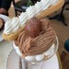 パティスリー クリアン - 料理写真:気まぐれマロンパフェ  1430円(税込)