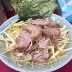 ラーメンショップ - ネギチャーシュー麺+ネギ増し