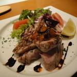 卯月 - 本日のお肉料理・豚ロースのソテー(おすすめランチ)