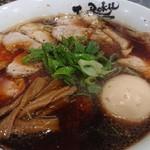118492162 - 中華そば+肉増し+味タマ♪