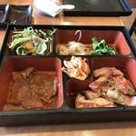 富士苑 - 料理写真:和牛カルビ定食