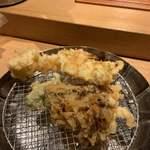 天ぷらめし 金子屋 - 海老、舞茸など