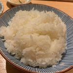 天ぷらめし 金子屋 - ご飯