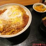 とんかつ 銀座梅林 - 銀座梅林のカツ丼 800円