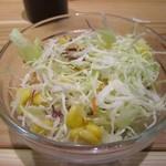 日之屋カレー - 料理写真:野菜サラダ