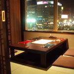 コリアンダイニング けなり - 夜景の見える個室(掘りごたつ)