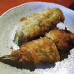 串揚げ咲と - 後から出て来るキス、牡蠣のフライ