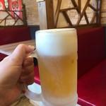 東京情熱餃子 -  ビールもキンキン