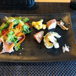 アルディーノ - 料理写真:アルディーノセットの前菜
