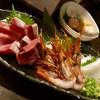 魚貝三昧 雛 - 料理写真:刺身3点盛り(1600円)