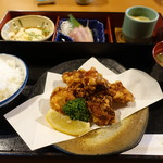 馳走家 とり壱 - せんざんき定食そばセット 1,480円