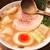 ヌードルワークス - ラーメン(680円)+トッピング水ぎょ~ざ(3個)(150円)