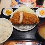 tonkatsuhamaya - 国産特上ロースかつ定食  1,300円